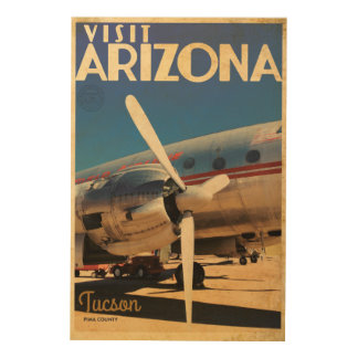Vintage Aircraft travel poster art
