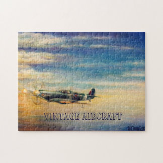 Vintage Aircrafts Jigsaw Puzzle