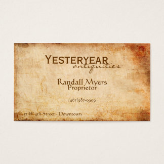 Vintage Airmail Business Card