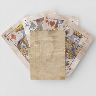 Vintage Airmail Playing Deck Bicycle Playing Cards