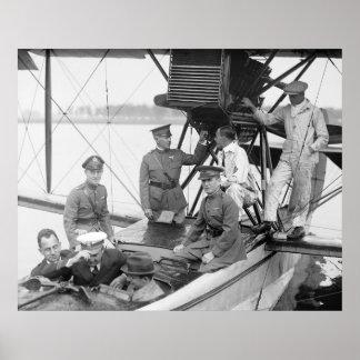 Vintage Airplane 1923 Print