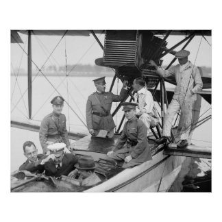 Vintage Airplane, 1923 Poster