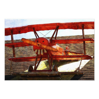 Vintage Airplane by Shirley Taylor Art Photo