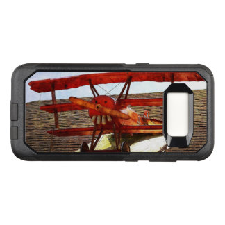 Vintage Airplane by Shirley Taylor OtterBox Commuter Samsung Galaxy S8 Case