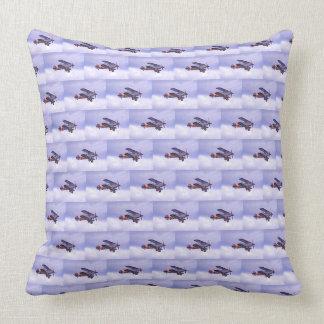 Vintage Airplane Design Cushion Pillow