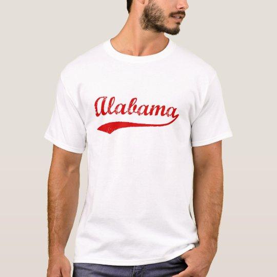 Vintage Alabama T-Shirt (red)