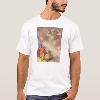 Vintage Aladdin and the Genie of the Lamp, Godwin T-Shirt
