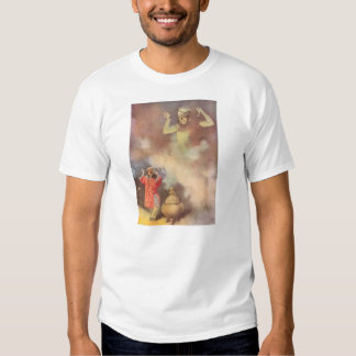 Vintage Aladdin and the Genie of the Lamp, Godwin Tee Shirts