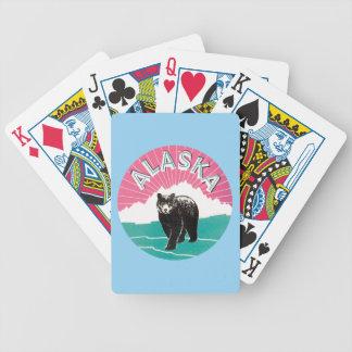 Vintage Alaska bear America Bicycle Playing Cards