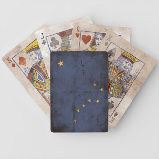 Vintage Alaska Flag Playing Cards