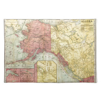 Vintage Alaska Map Placemat