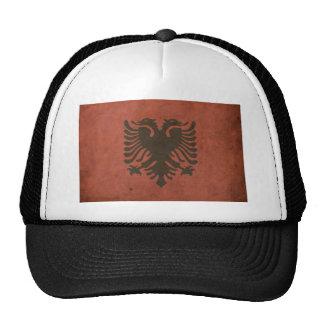 Vintage Albania Flag Trucker Hat
