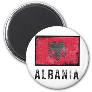 Vintage Albania Magnet