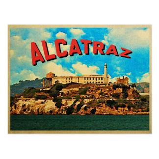 Vintage Alcatraz Island Postcard