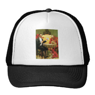"Vintage Alexander Fredrik ""Beats the Devil"" Mesh Hats"