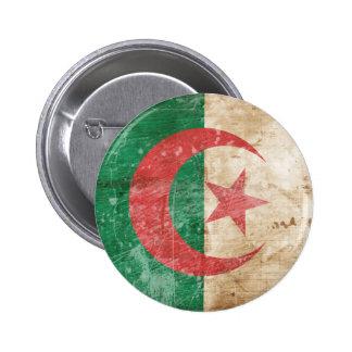 Vintage Algeria Flag 6 Cm Round Badge