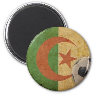 Vintage Algeria Flag 6 Cm Round Magnet