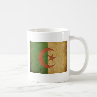 Vintage Algeria Flag Basic White Mug