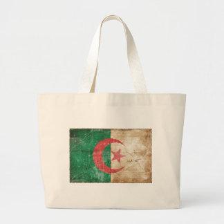 Vintage Algeria Flag Canvas Bags