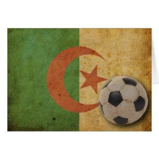 Vintage Algeria Flag Greeting Cards