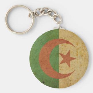 Vintage Algeria Flag Keychain