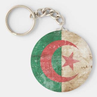 Vintage Algeria Flag Keychains