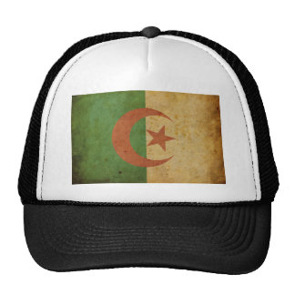 Vintage Algeria Flag Mesh Hat