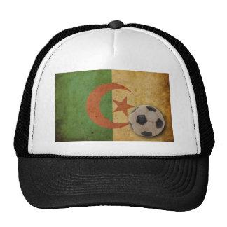 Vintage Algeria Flag Mesh Hats