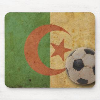 Vintage Algeria Flag Mouse Pad