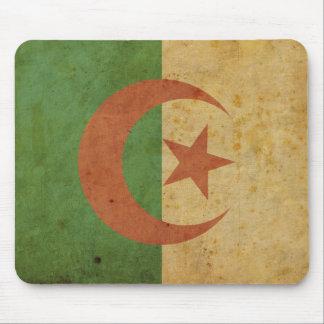 Vintage Algeria Flag Mouse Pads