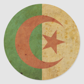 Vintage Algeria Flag Sticker