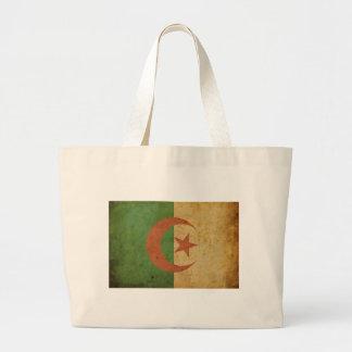Vintage Algeria Flag Tote Bags