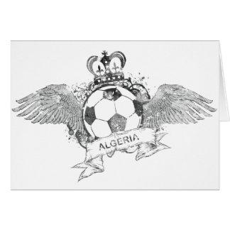 Vintage Algeria Football Greeting Card