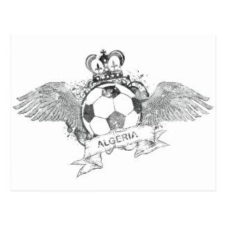 Vintage Algeria Football Postcard
