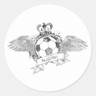 Vintage Algeria Football Stickers