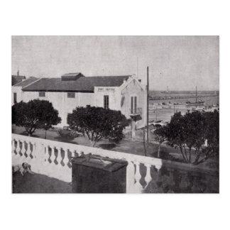 Vintage Algeria Philippeville Base Nautique 1930 Postcard