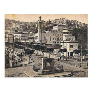 Vintage Algeria Philippeville town centre, 1912 Postcard