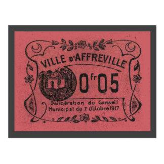 Vintage Algeria, Ville d'Affreville 1917 Postcard