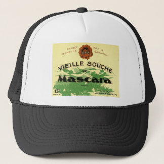 Vintage Algerian wine labels Trucker Hat