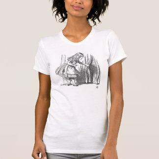 Vintage Alice in Wonderland art accessories emo T-Shirt