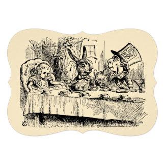 Vintage Alice in Wonderland Baby Shower Custom Invitations