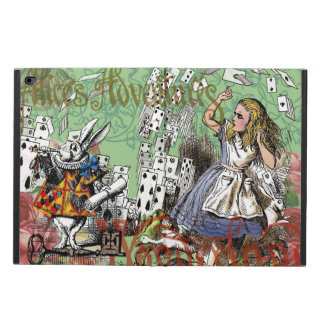 Vintage Alice in Wonderland Cards Tea party Powis iPad Air 2 Case