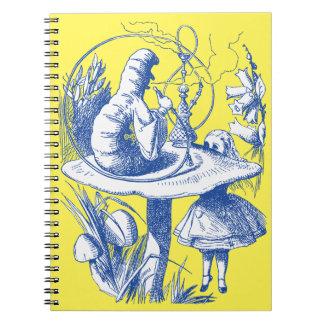 Vintage Alice in Wonderland Centipede Notebooks
