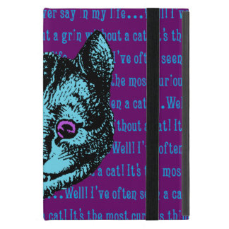 Vintage Alice in Wonderland Cheshire Cat Covers For iPad Mini