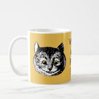 Vintage Alice in Wonderland Cheshire Cat Gift Mug