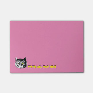Vintage Alice in Wonderland Cheshire Cat Note Post-it® Notes