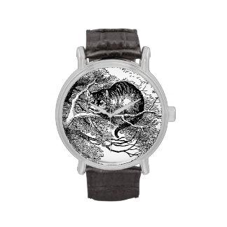 Vintage Alice in Wonderland, Cheshire Cat Wristwatch
