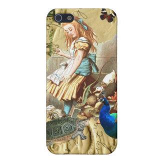 Vintage Alice in Wonderland collage iPhone 5/5S Case