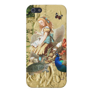Vintage Alice in Wonderland collage iPhone 5 Case