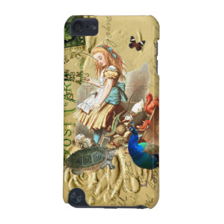 Vintage Alice in Wonderland collage iPod Touch (5th Generation) Cover